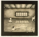 Artist: RICHARDSON, Berris | Title: Ojo Calliente. Interior I | Date: 1983 | Technique: lithograph, printed in colour, from three stones [or plates]