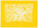 Artist: BALSAITIS, Jonas | Title: Yellow | Date: 1982 | Technique: lithograph, printed in colour, from multiple stones