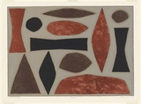 Artist: COBURN, John | Title: Uluru | Date: 1990, June | Technique: lithograph, printed in colour, from five stones [or plates]