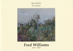 <p>Fred Williams (1927-1982). Paintings and related etchings.</p>
