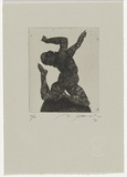 Artist: SELLBACH, Udo | Title: Untitled | Date: 1987 | Technique: etching, printed in black ink, from one plate