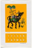 Artist: LITTLE, Colin | Title: Calendar: Union of Vietnamese in Australia. | Date: 1976 | Technique: screenprint, printed in colour, from multiple stencils