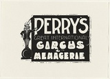 Title: Perry's Great International Circus & Menagerie | Date: 1995-96 | Technique: linocut, printed in black ink, from one block