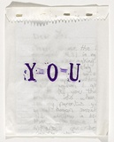 Title: You [purple stamped cover] | Date: 2010