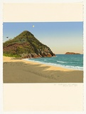 Artist: ROSE, David | Title: Zenith beach (late afternoon) | Date: 1987 | Technique: screenprint, printed in colour, from multiple stencils