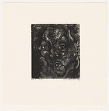 Artist: FAIRBAIRN, David | Title: S.P. 1 | Date: 2004 | Technique: etching and aquatint, printed in black ink, from one plate
