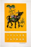 Artist: EARTHWORKS POSTER COLLECTIVE | Title: Calendar: Union of Vietnamese in Australia. | Date: 1976 | Technique: screenprint, printed in colour, from multiple stencils