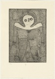 Title: Untitled #1. | Date: 2000 | Technique: hardground-etching, printed in black ink, from one copper plate