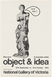 Artist: UNKNOWN | Title: Object and idea, National Gallery of Victoria | Date: 1973 | Technique: offset- lithograph