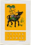 Artist: LITTLE, Colin | Title: Calendar: Union of Vietnamese in Australia | Date: 1976 | Technique: screenprint, printed in colour, from multiple stencils