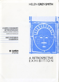 <p>Helen Grey-Smith: A retrospective exhibition.</p>