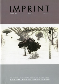 <p>Imprint [Journal of the Print Council of Australia], volume 41, number 1, 2006.</p>