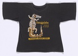 Artist: TERRITORY TRACK AND FIELD | Title: T-shirt: Danggalaba - Festival of Art and Life. | Date: 1990 | Technique: screenprint, printed in colour, from multiple stencils