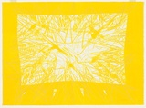 Artist: BALSAITIS, Jonas | Title: Yellow. | Date: 1982 | Technique: lithograph, printed in colour, from multiple stones