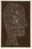 Artist: FAULKS, Philip | Title: Undone | Date: 1989 | Technique: lithograph, printed in black ink, from one stone