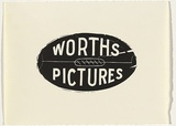 Title: Worths pictures | Date: 1995-96 | Technique: linocut, printed in black ink, from one block