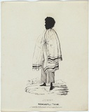 Artist: FERNYHOUGH, William | Title: Jemmy, Newcastle Tribe. | Date: 1836 | Technique: pen-lithograph, printed in black ink, from one zinc plate