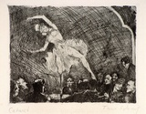 Artist: SCHARF, Theo | Title: Cabaret | Date: c.1922 | Technique: etching and drypoint, printed in black ink, from one plate | Copyright: © The Estate of Theo Scharf.