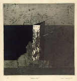 Artist: NEESON, John P. | Title: Obelisk | Date: 1969 | Technique: etching and aquatint, printed in colour, from two  plates