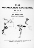 Artist: LANCELEY, Colin | Title: The Miraculous Mandarin Suite. | Date: 1966 | Technique: screenprint, printed in black ink, from one stencil | Copyright: © Colin Lanceley. Licensed by VISCOPY, Australia