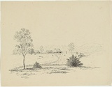 Title: Canning Downs | Date: c.1853 | Technique: lithograph, printed in black ink, from one stone
