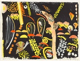 Artist: LANCELEY, Colin | Title: Summer night | Date: 1987 | Technique: lithograph, printed in colour, from multiple stones [or plates] | Copyright: © Colin Lanceley. Licensed by VISCOPY, Australia