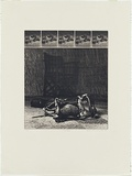 Artist: MADDOCK, Bea | Title: Caliper | Date: 1974 | Technique: photo-etching and aquatint, printed in black ink, from six plates