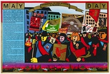 Artist: REDBACK GRAPHIX | Title: May day. | Date: 1986 | Technique: screenprint, printed in colour, from five stencils | Copyright: © Raymond John Young