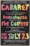 Artist: BLACK BANANA POSTERS | Title: Cabaret. | Date: 1988 | Technique: screenprint, printed in colour, from two stencils